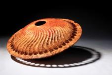 Angus Clyne Oak Pod Turned and Carved 45cm x 35cm