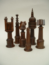 Paul Coker, City of London Chess set
