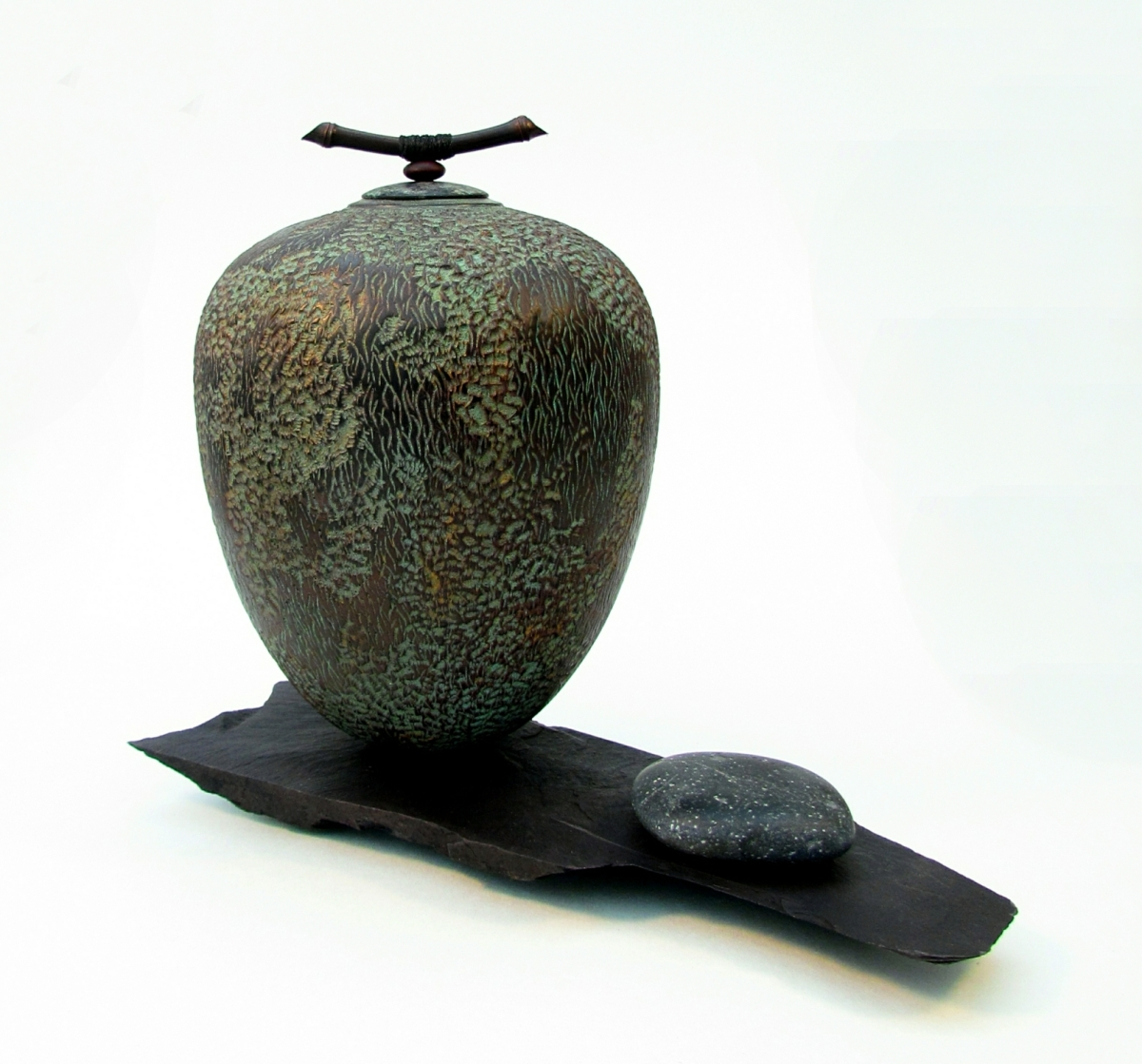 Mark Sanger Impermenence Lidded form