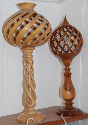 Stuart Mortimer twisted-lamps