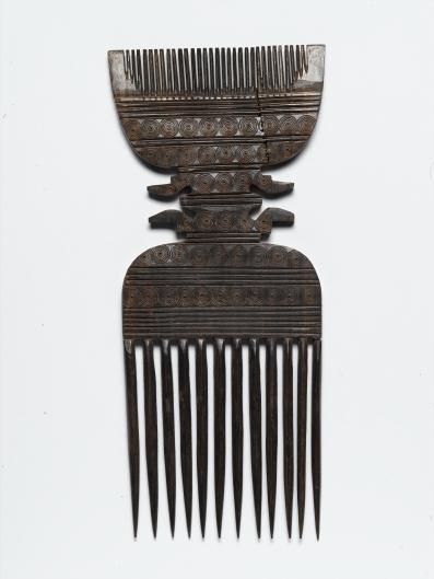 Ebony comb, Zanzibar