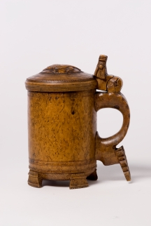 Birch burr tankard, Norway