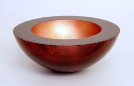 Rosemary Wright (c) Stained and copper painted sycamore 10in x 4in web